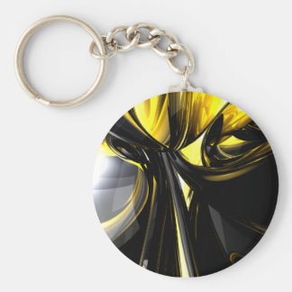 Bounded by Light Abstract Keychain