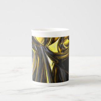 Bounded by Light Pastel Abstract Tea Cup