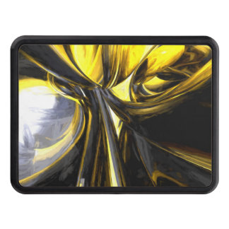 Bounded by Light Pastel Abstract Trailer Hitch Covers