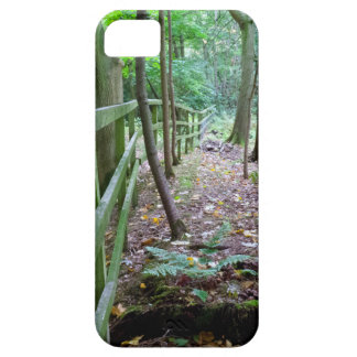 Boundry to the woods iPhone SE/5/5s case