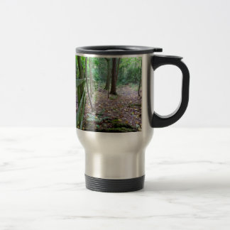 Boundry to the woods travel mug