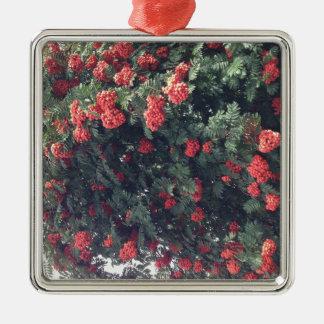 Bountiful Berries Metal Ornament