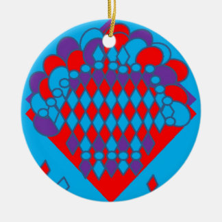 bountiful bouquet2-page0001.jpg Double-Sided ceramic round christmas ornament