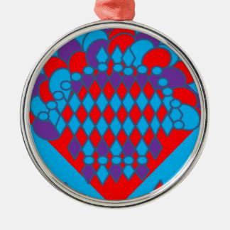 bountiful bouquet2-page0001.jpg round metal christmas ornament