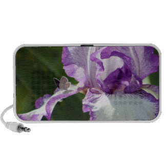 Bountiful Butterfly Iris Photography Speakers