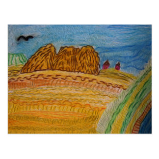 Bountiful Fields Post Cards