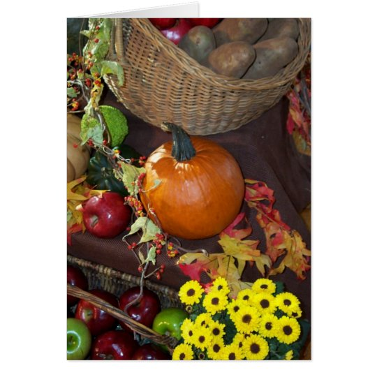 Bountiful Harvest Card