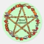 Bountiful Harvest Classic Round Sticker