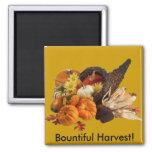 Bountiful Harvest Cornucopia Magnet