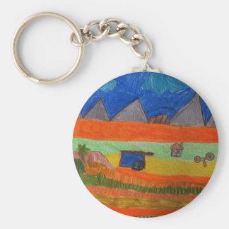 Bountiful Harvest Keychain