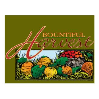 Bountiful Harvest Postcard