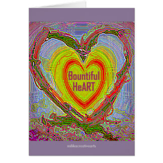 Bountiful HeArt Card