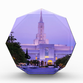 Bountiful LDS Mormon Temple Sunrise - Utah Award