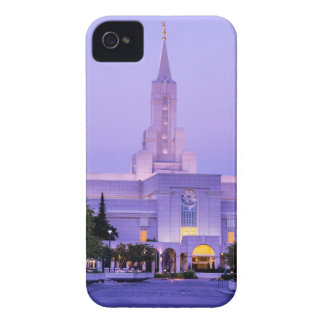 Bountiful LDS Mormon Temple Sunrise - Utah iPhone 4 Case
