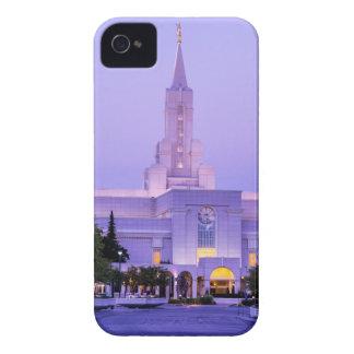 Bountiful LDS Mormon Temple Sunrise - Utah iPhone 4 Cases