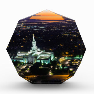 Bountiful Lds Mormon Temple Sunset Award
