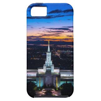 Bountiful Lds Mormon Temple Sunset iPhone SE/5/5s Case