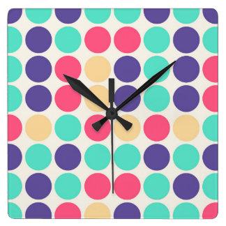 Bountiful Seemly Intuitive Rewarding Square Wall Clock
