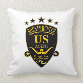 Bounty Hunter Agent Pillow