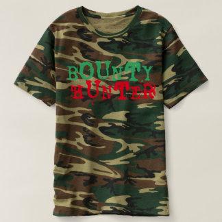 Bounty Hunter Camouflage T-Shirt design