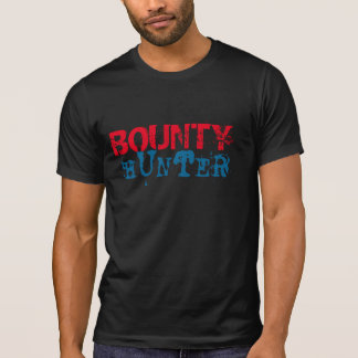 bounty hunter t-shirt design