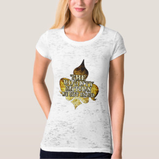 Bounty Nation Woman's Fire Burn Out T T-Shirt