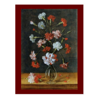 Bouquest of Carnations Postcard