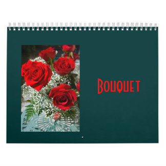 Bouquet: 12 Floral Photographs and Poems Calendar