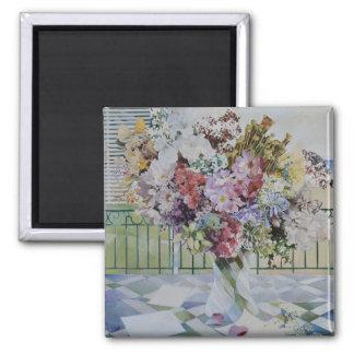 Bouquet 2 Inch Square Magnet