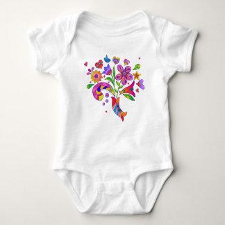 'Bouquet' Baby Bodysuit