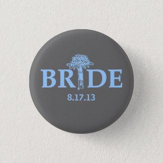 Bouquet Bride Button