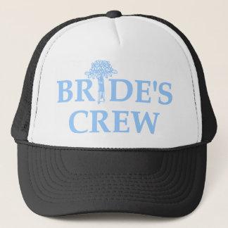 Bouquet Bride's Crew Trucker Hat