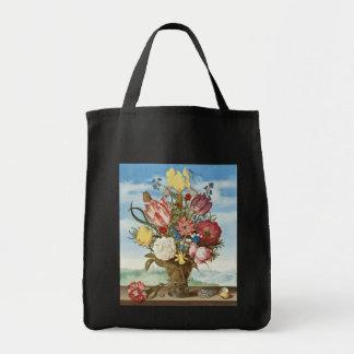 Bouquet by Ambrosius Bosschaert - Circa 1620 Tote Bag