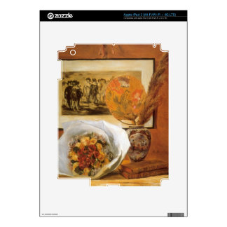 Bouquet by Pierre Renoir Decal For iPad 3