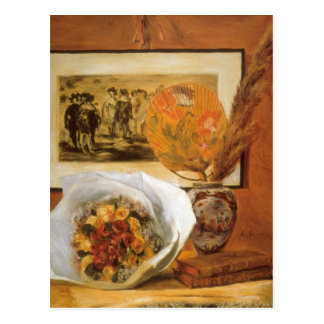Bouquet by Pierre Renoir Postcard