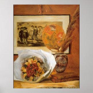 Bouquet by Pierre Renoir Print