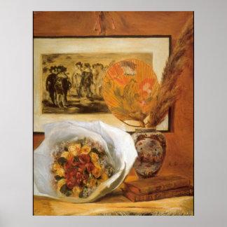 Bouquet by Pierre Renoir Posters