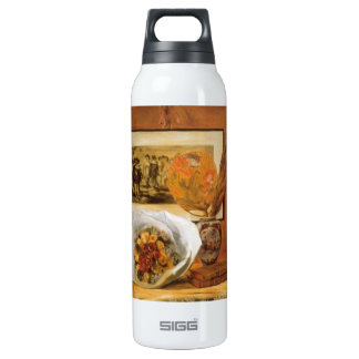 Bouquet by Pierre Renoir 16 Oz Insulated SIGG Thermos Water Bottle
