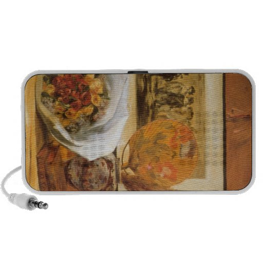 Bouquet by Pierre Renoir Notebook Speaker
