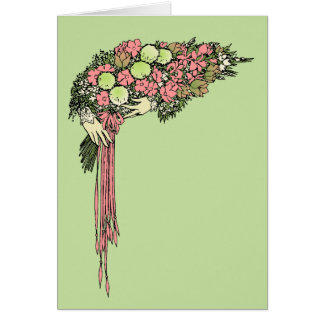 Bouquet - Customizable Colors! Greeting Cards