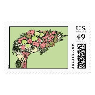 Bouquet - Customizable Colors! Postage