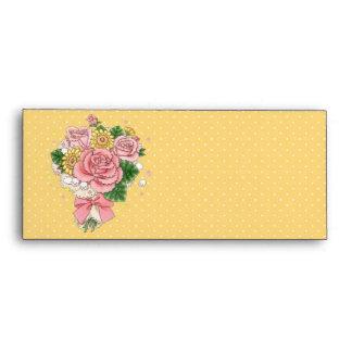 Bouquet envelope #10 (yellow)