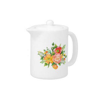 Bouquet for Mom Teapot