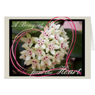 Bouquet from the Heart Card