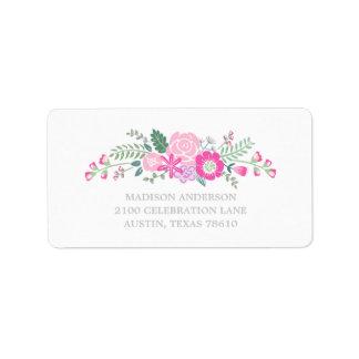 Bouquet | Graduation Address Label