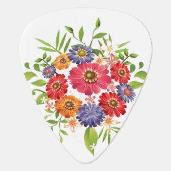 Bouquet Guitar Pick by KraftyKays at Zazzle