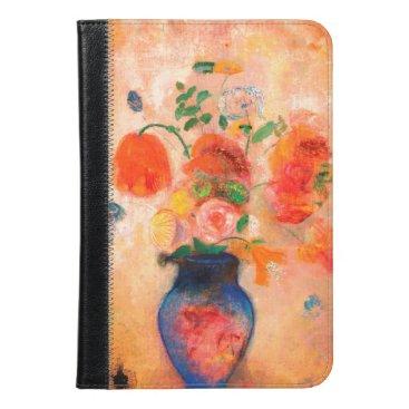 Bouquet in a Blue Vase by Odilon Redon iPad Mini Case