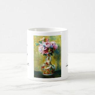 Bouquet in a Vase Pierre Auguste Renoir painting Coffee Mug