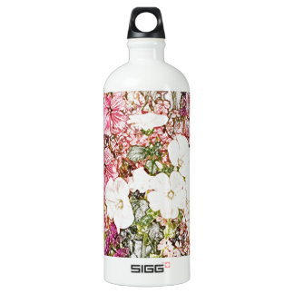 Bouquet in clear vase collection SIGG traveler 1.0L water bottle