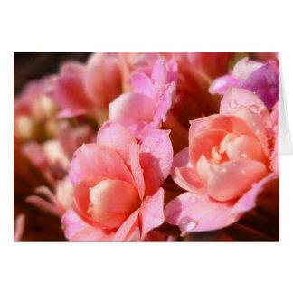 Bouquet in Pink Notecard by Wild Honey Designs